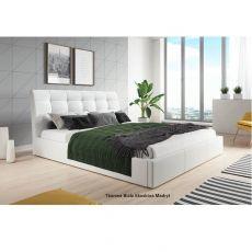 Łóżko tapicerowane BALDO + pojemnik + materac