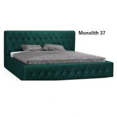Łóżko tapiceorwane Skand z pojemnikiem i stelażem 140x200 160x200 180x200   Meble Kukulka