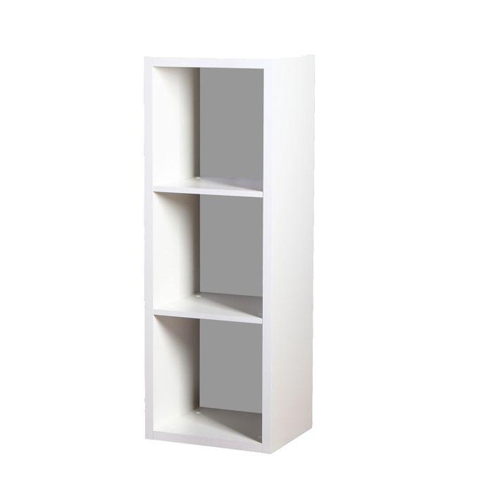 Regał na książki niski biały Ola R1 | Meble Kukulka