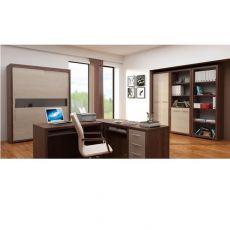Zestaw mebli do biura z szafą i biurkiem TORA